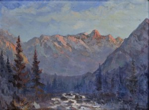 'Studenovodska Valley', 1935, oil on canvas, 60x80.jpg