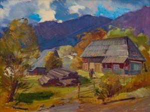 V. Brenzovych 'Vyshka Village', 2014