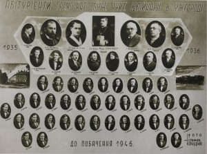 A. Erdeli among the lecturers of the teacher's seminary in Uzhhorod