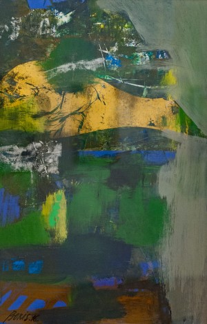 'Composition On Green', 2016