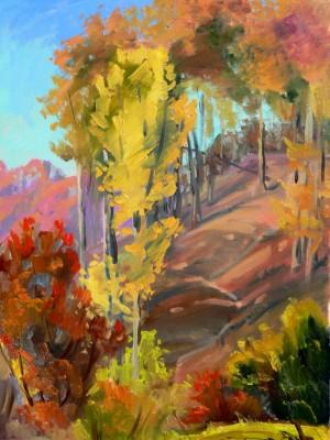 Фарби осені, 2010, к.о., 80х60