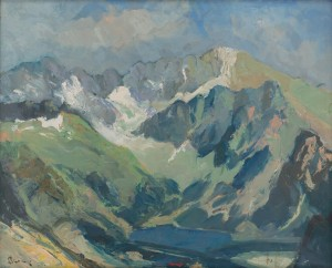 'The Tatras Mountains Region', 1930, oil on canvas, 49,5х61.png