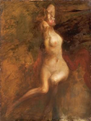 Оголена, 1924