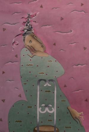 Корж-Радько Л., Рожево-зелена, 1996