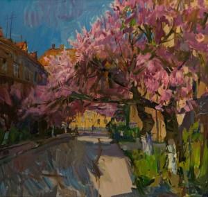A. Kovach  Cherry blossom, 2016