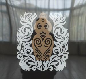 Amulet, 2017, vytynanka