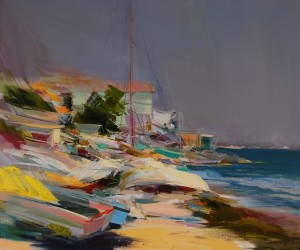 Fresh Wind2013oil on canvas50x60.