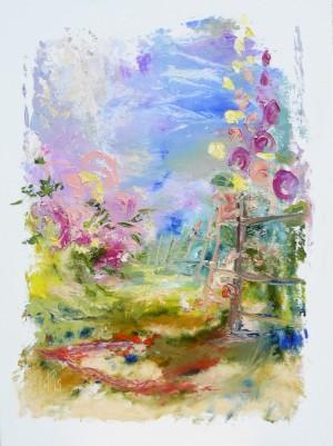 Paints of village, 2015, 80х60