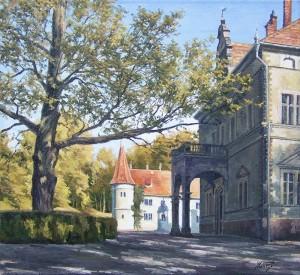 Schönborn Palace, oil on canvas