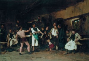 The Hero of the Village 1882