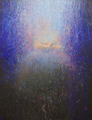 Soul's Light 2014 acrylic on canvas110x85.