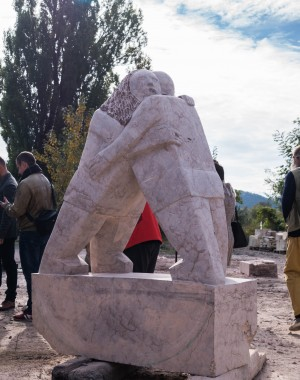 "Sculpture-Symposium 2017"" gathered the artists of 6 COUNTRIES in Transcarpathian Chynadievo"
