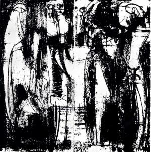 L-XIX, 1969, litografia, 60X60