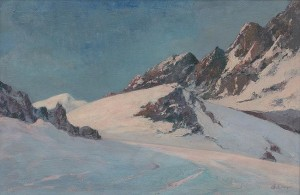 'The Tatras Mountains', 1930, oil on canvas, 68x103.png
