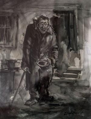 Y. Dulenko 'A Beggar'