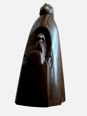 Молитва, 2005, дерево, 60х27х23