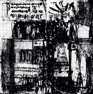 L-XV, 1969, litografia, 60X60