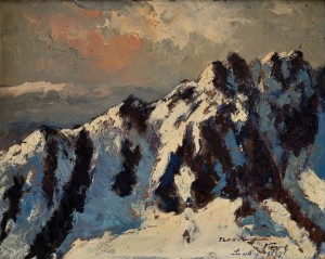 'The Tatras Mountains', the 1930s, oil on cardboard, 38,5х48.jpg