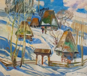'Winter Morning', 1977, 85x75