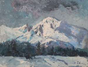'The Tatras Mountains', 1935-1938, oil on canvas, 49,8х64,5.png