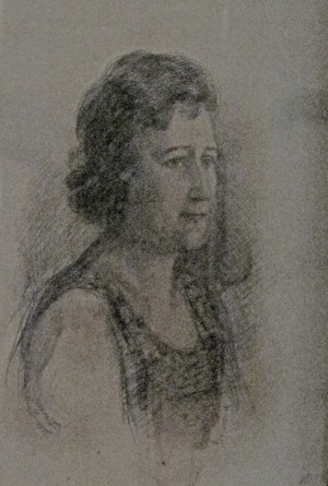 Portrait of Varvara Kutlan, 1930s
