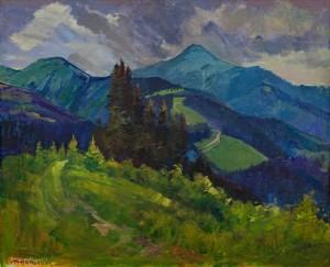 V. Brenzovych 'Turkul Mount', 2018