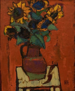 A. Kovach  Sunflowers, 2016