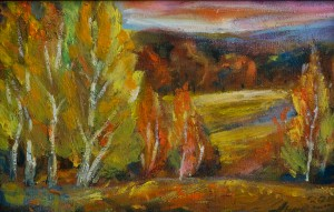 Етюд «Вечоріє», 2006, п.о., 41х25
