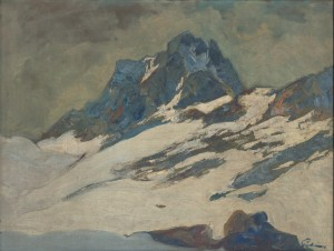 'The Tatras Mountains In Winter', 1925-1935, oil on canvas, 60,5х80,5.png