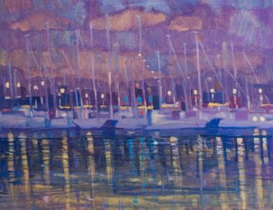 'Яхти', 2015, 60х70