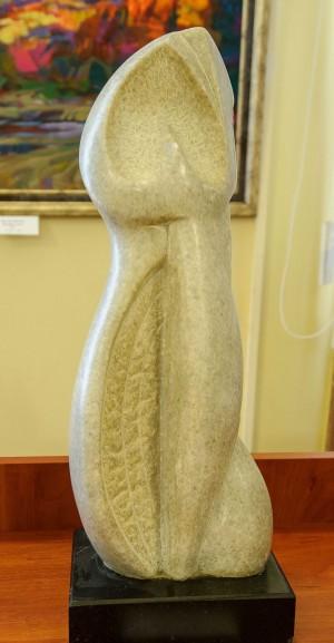 "B. Korzh ""Grey Princess"", 2008, marble, andesite"