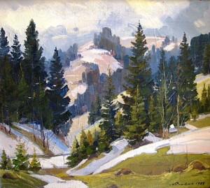 The Beginning Of Spring, 1988, oil on canvas, 65х75