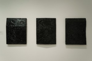 Resin Painting, 2012, wood, plywood,bitumen