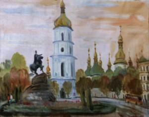 Софія Київська, 1981, п. о., 50х65