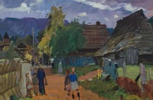 Stavne village, 1962