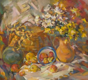 T. Levlias Still Life With Chrysanthemums', 2011