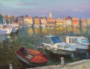 Novigrad. Croatia. 2014, oil in canvas