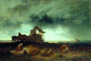 Storm at the Puszta 1867