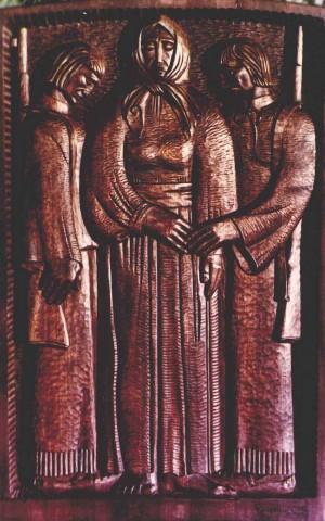 На захист Батьківщини, 1973, дерево, 81х52