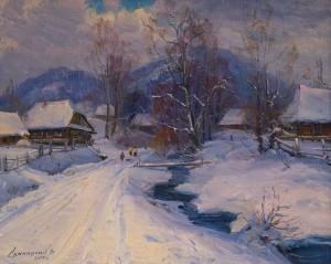 V. Svaliavchyk Winter'