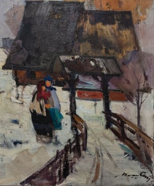 'Winter', 1969, 50x60
