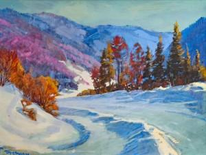 V. Brenzovych 'The Uzhok Pass', 2015