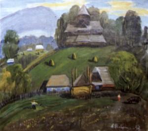 Струківська церква(Ясіня), 1993, п.о., 70х80