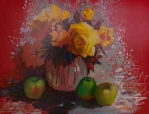 I. Didyk 'Yellow Roses'