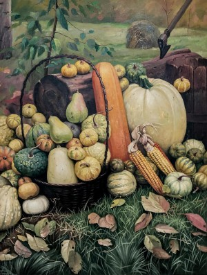 'Pumpkins', 2010, oil on canvas, 60х80