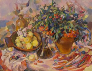 T. Levlias Still Life With Apples', 2011