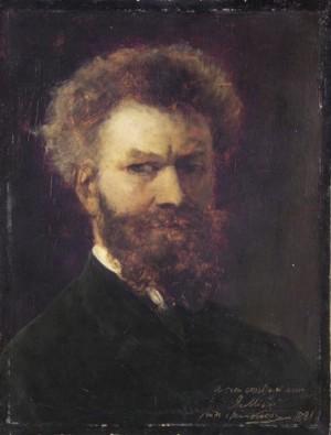 Автопортрет, 1881 р. д.о.