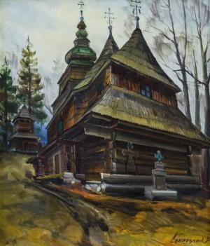 V. Svaliavchyk. The church in Roztoka village, 2006