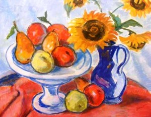 Still Life With Sunflowers, 1984