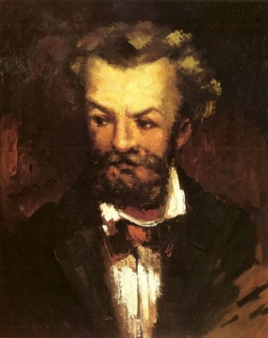 Self-portrait of the artist